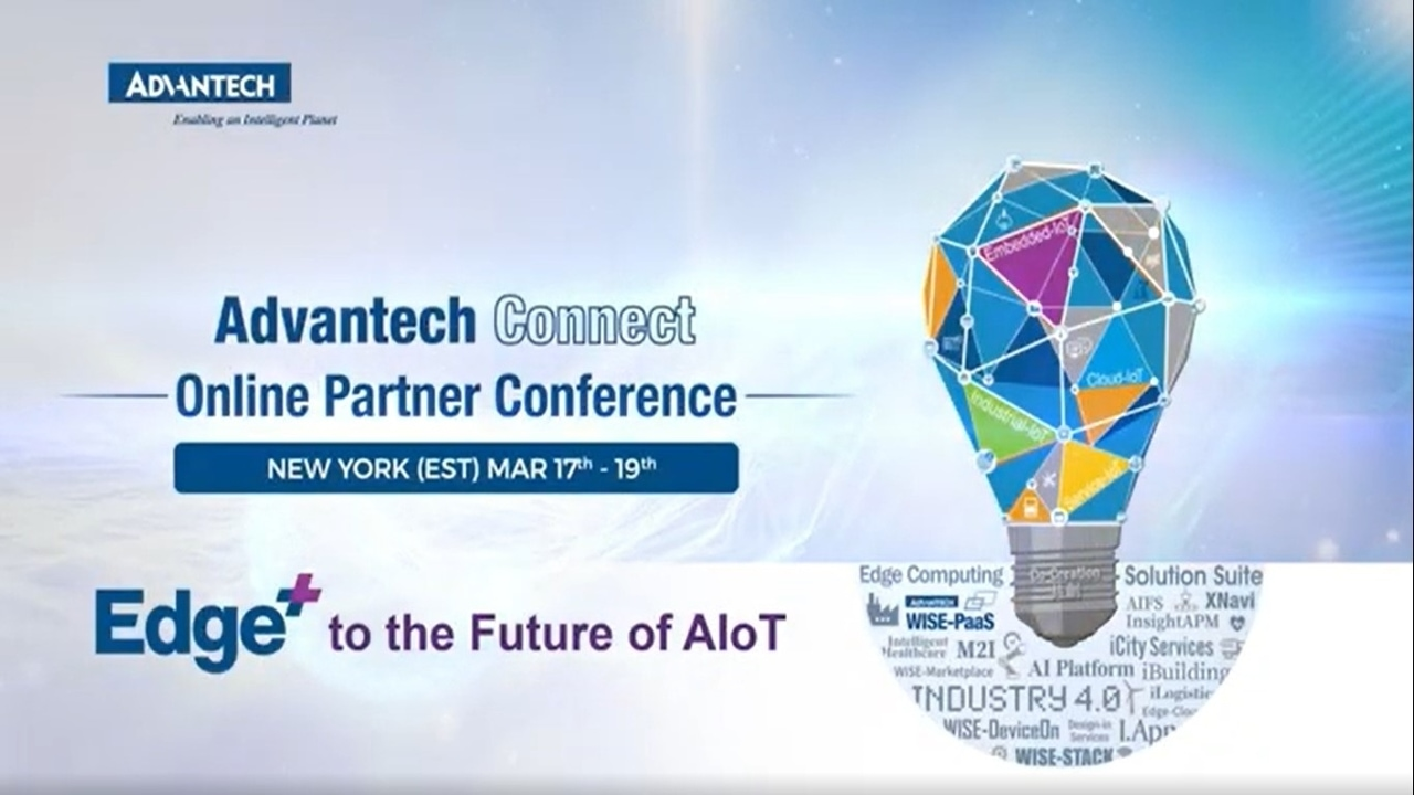 2021 Advantech Connect Edge+ to the Future of AIoT Teaser (New York)